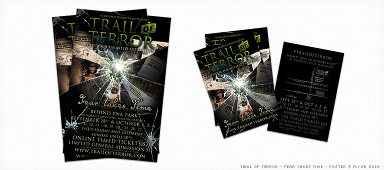 Trail of Terror 2019 Poster & Flyer