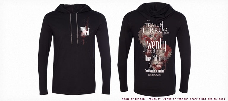 Trail of Terror 2014 Shirt