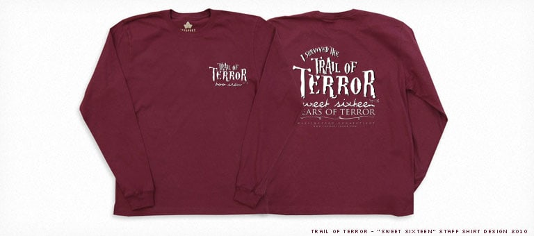 Trail of Terror 2012 Staff Shirt