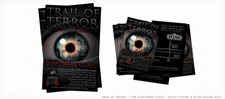 Trail of Terror Poster 2011