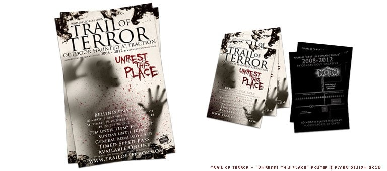 Trail of Terror Poster 2012