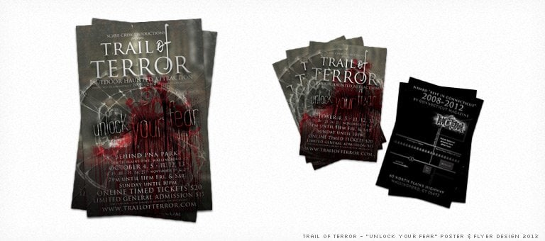 Trail of Terror 2013 Poster